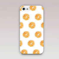 Orange Phone Case For - iPhone 6 Case - iPhone 5 Case - iPhone 4 Case - Samsung S4 Case