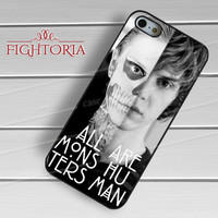 monsters are human-1nn iPhone 4/4S/5/5S/5C/6/ 6+,samsung S3/S4/S5,S6 Regular,samsung note 3/4
