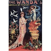 NEW! Vintage Wanda's Goddess Of Mystery Magic Poster Home Decor Wall Art