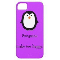 Penguin Happiness iPhone 5 Case iPhone 5s Case (available for iPhone 5c Case)
