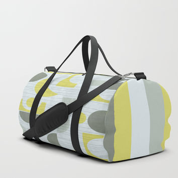 Retro Pattern II #society6 #buyart #decor Duffle Bag by Mirimo