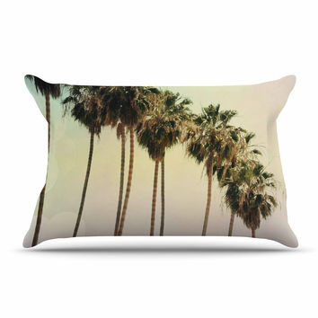 "Sylvia Coomes ""Palm Trees"" Coastal Photography Pillow Case"
