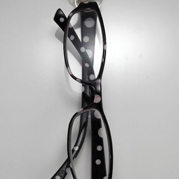 Custom Made Magnetic Floral Shaped Eyeglass Holder in Any Color Aluminum