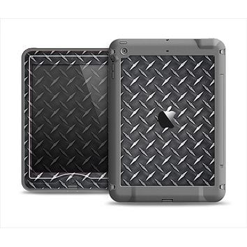 The Black Diamond-Plate Apple iPad Mini LifeProof Nuud Case Skin Set