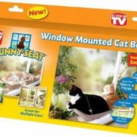 The Original Sunny Seat Window-Mounted Cat Bed