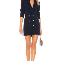 by the way. Madeline Blazer Dress in Navy | REVOLVE
