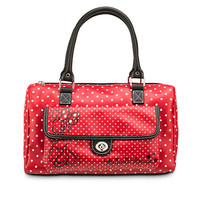 Disney Minnie Mouse Polka Dot Barrel Bag | Disney Store