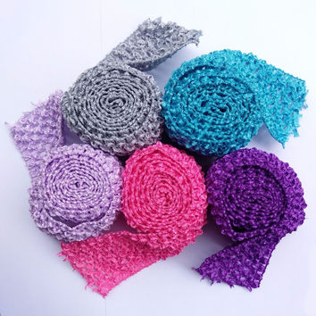 Tutu bands Stretchy 2.75inch wide Crochet Elastic Waistband by the Meter for tutu skirt DIY Tutu supplies