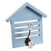 Summer Beach Cottage Wall Hook (blue)