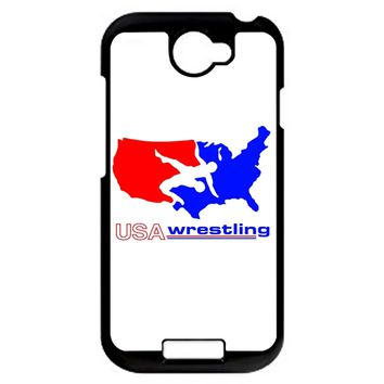 Team Usa Wrestling HTC One S Case