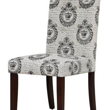 Davie Royal Crest Tufted Dining Chair (Set of 2)