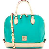 Dooney & Bourke Zip Zip Patent Leather Satchel | Dillard's Mobile