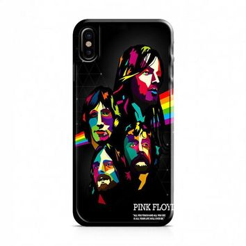 Pink Floyd Poster iPhone X Case