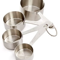 Martha Stewart Collection Stainless Steel Measuring Cups, Only at Macy's - Kitchen Gadgets - Kitchen - Macy's