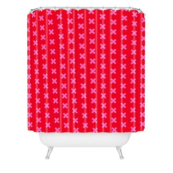 Caroline Okun Rougex Shower Curtain