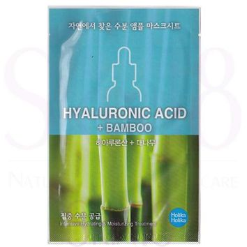 Holika Holika Hyaluronic Acid + Bamboo Intensive Treatment Mask (Hydrating & Moisturizing)