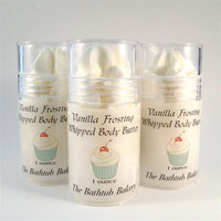Vanilla Frosting Whipped Body Butter Shea Butter 1 tube
