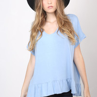 Gab & Kate Ruffle Top