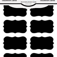 Chalkboard Labels, Premium Waterproof Peel and Stick for Jars, Pantries, Craft Rooms