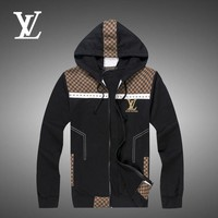 ONETOW Day-First? Boys & Men Louis Vuitton Cardigan Jacket Coat Hoodie