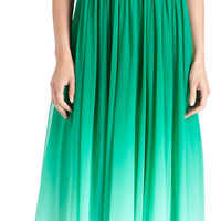 Monique Lhuillier Sweetheart Ombre Gown at Barneys.com