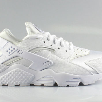 Nike Women's Air Huarache Run Triple White