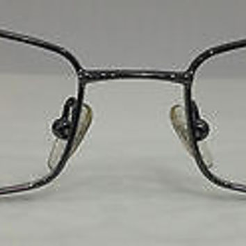 NEW AUTHENTIC GIORGIO ARMANI GA 294 COL KJ1 GUNMETAL METAL EYEGLASSES 52MM