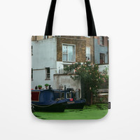 London, canal Tote Bag by Julius Marc