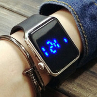 Unisex Simple LED Watch Gift 485