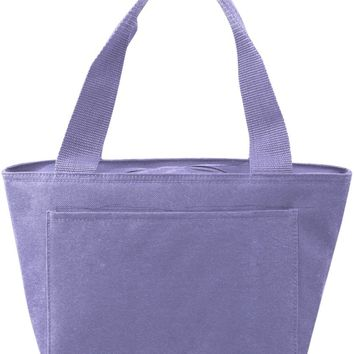 Insulated Cooler Tote Lunch Bag (Lavender) - CASE OF 24