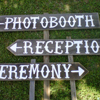 Country Wedding Signs LARGE FONT Your Own Words by TRUECONNECTION
