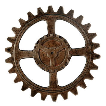 Industrial Style Gear Wall Hanging Decoration   3231