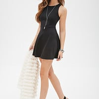 FOREVER 21 Stretch-Knit Skater Dress