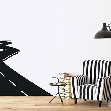 Vinyl Decal Direction Road Course Speed Track  Wall Stickers Unique Gift (n444)
