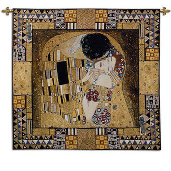 Kiss Captured I Tapestry Wall Art