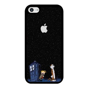Calvin And Hobbes Apple Tardis iPhone 5C Case