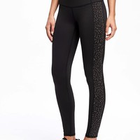 Go-Dry Mid-Rise Run Legging for Women (Reflective) | Old Navy
