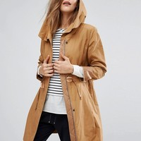 Boss Orange Soft Drape Trench Coat at asos.com