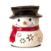 Jewelry Tart Warmer - Fluffy The Snowman