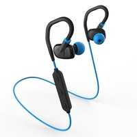 Sports Wireless Earbuds IPX4 Water Resistant Bluetooth Hands-free Mic