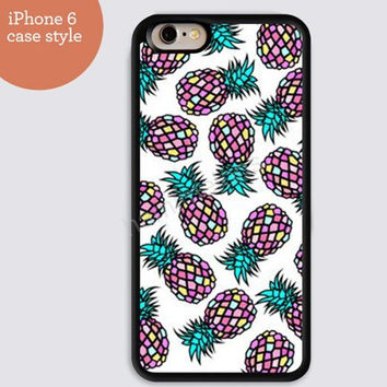 iphone 6 cover,art iphone 6 plus,Cartoon Pineapple colorful IPhone 4,4s case,color IPhone 5s,vivid IPhone 5c,IPhone 5 case 51