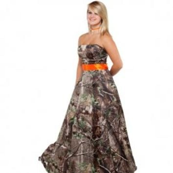 Realtree® Camo Prom Dress | store.realtree.com