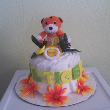 Little Tiger Diaper Cake