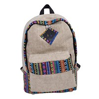 On-Trend Print Trim Backpack