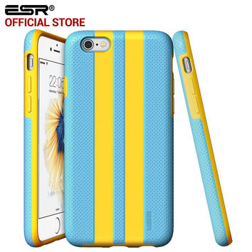 ESR Hybrid Case Shock Absorbent Durable Color Stylish Stripe Pattern Protective case iPhone 6/6S