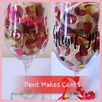 Custom Glassware by Dent Makes Cents