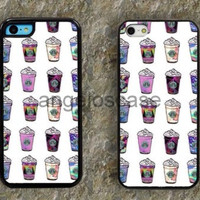 Starbucks Coffee ice cream iPhone 4 Case, iPhone 4s Case, iPhone 5 case,iPhone 5s case Samsung S3 S4 S5 case 004