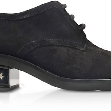 Nicholas Kirkwood Black 35mm Suzi Derby Shoes