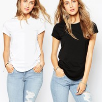 ASOS The Ultimate Crew Neck 2 Pack SAVE 13%