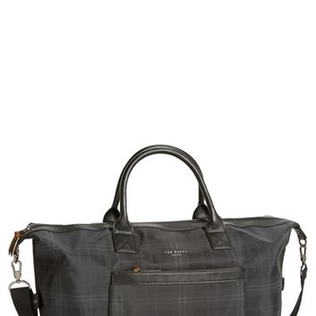 Men's Ted Baker London 'Radayo' Nylon Duffel Bag